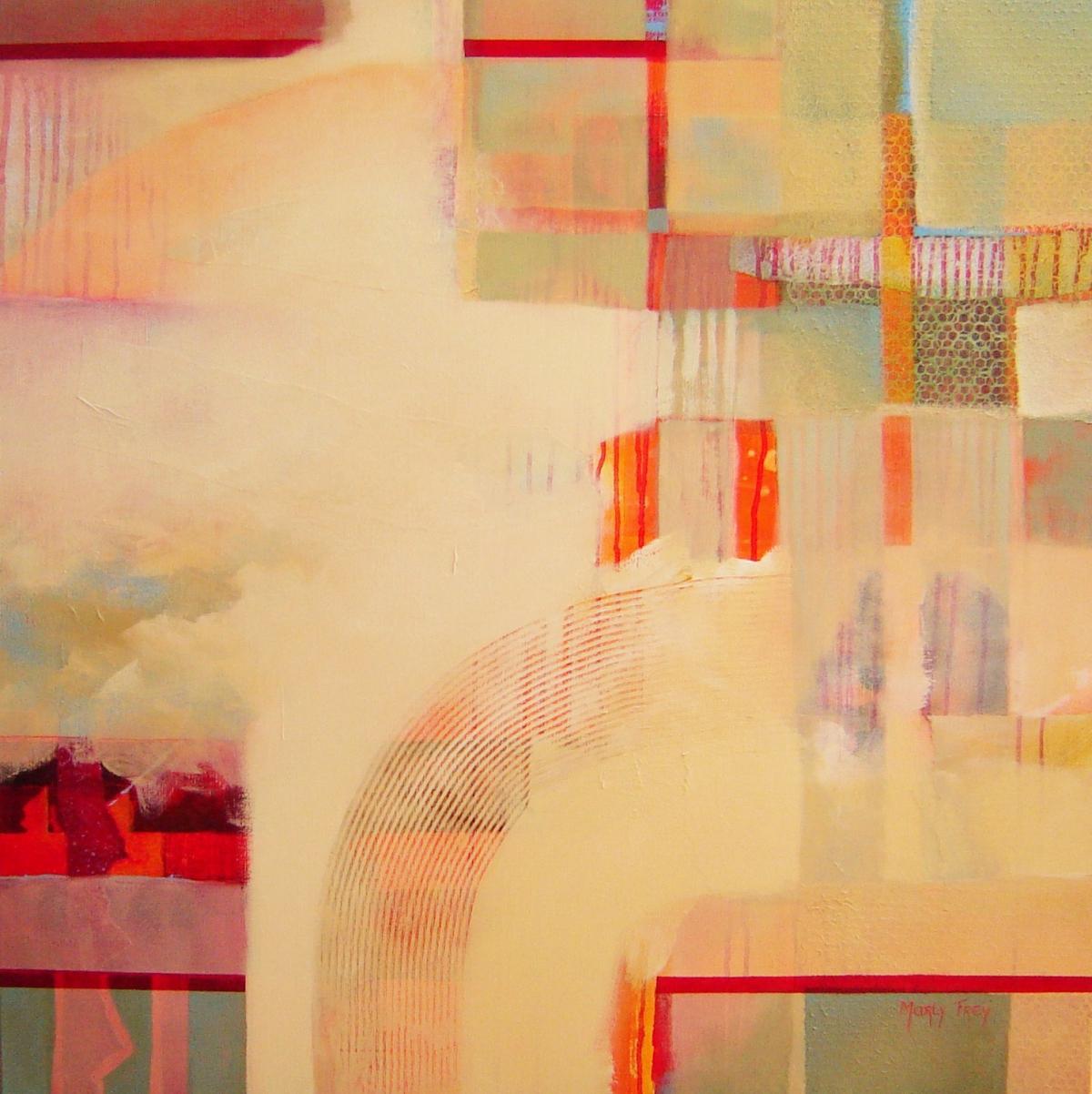 Kunst: Lente van kunstenaar Marly Freij(vergezichten)