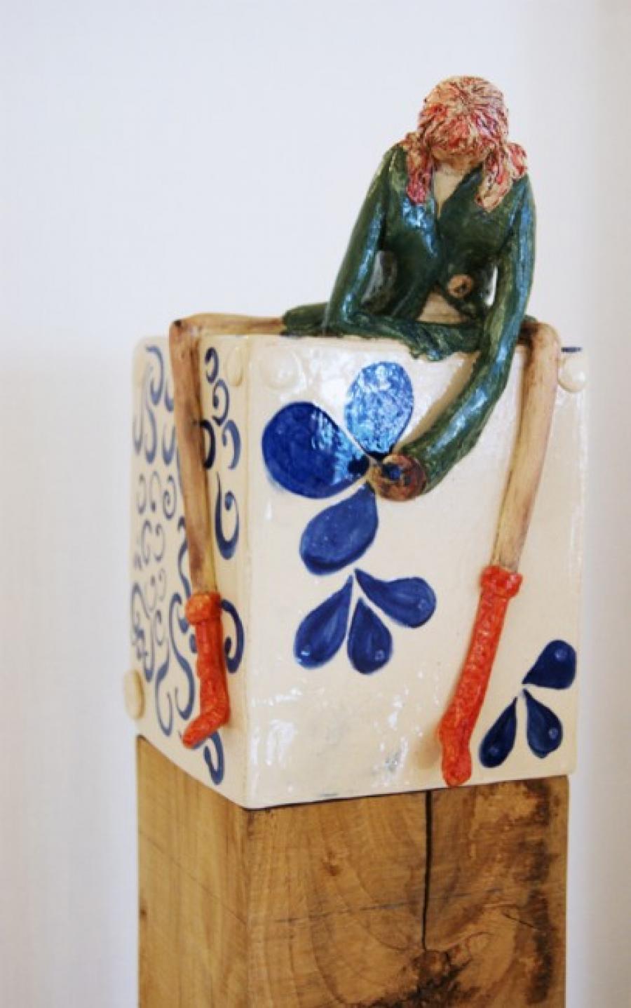 Kunst: Lente en Delfsblauw van kunstenaar Marja Verkerk-Smit