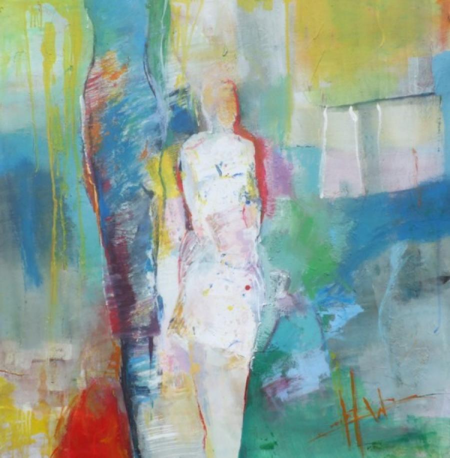 Kunst: Licht II van kunstenaar Heleen Wilke
