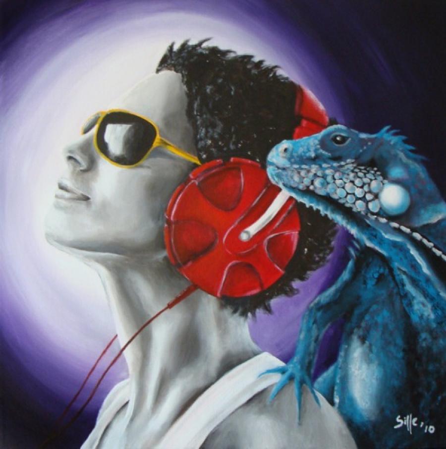 Kunst: Listen together van kunstenaar Tamara Sille