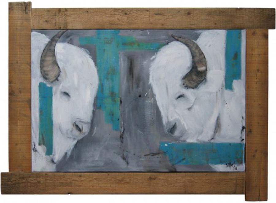 Kunst: Little buffalo van kunstenaar Tamara Sille