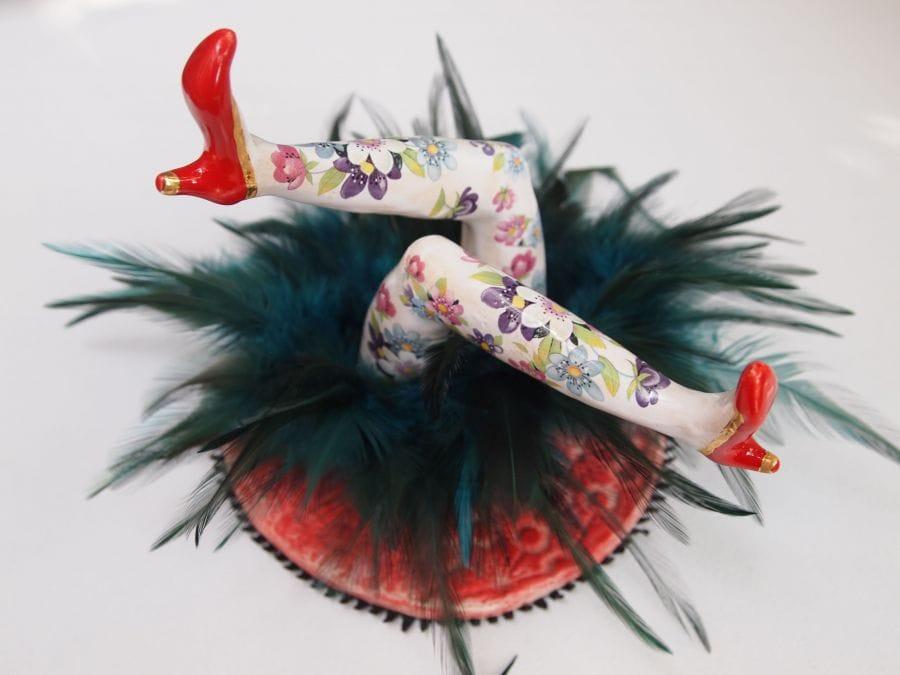 Kunst: Luchtige benen 1 van kunstenaar Nicky Konings