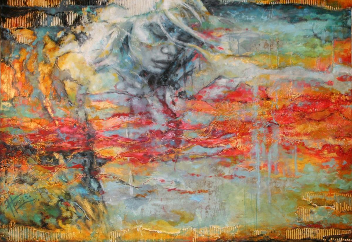 Kunst: Luz de la Luna van kunstenaar Evelyn Hamilton