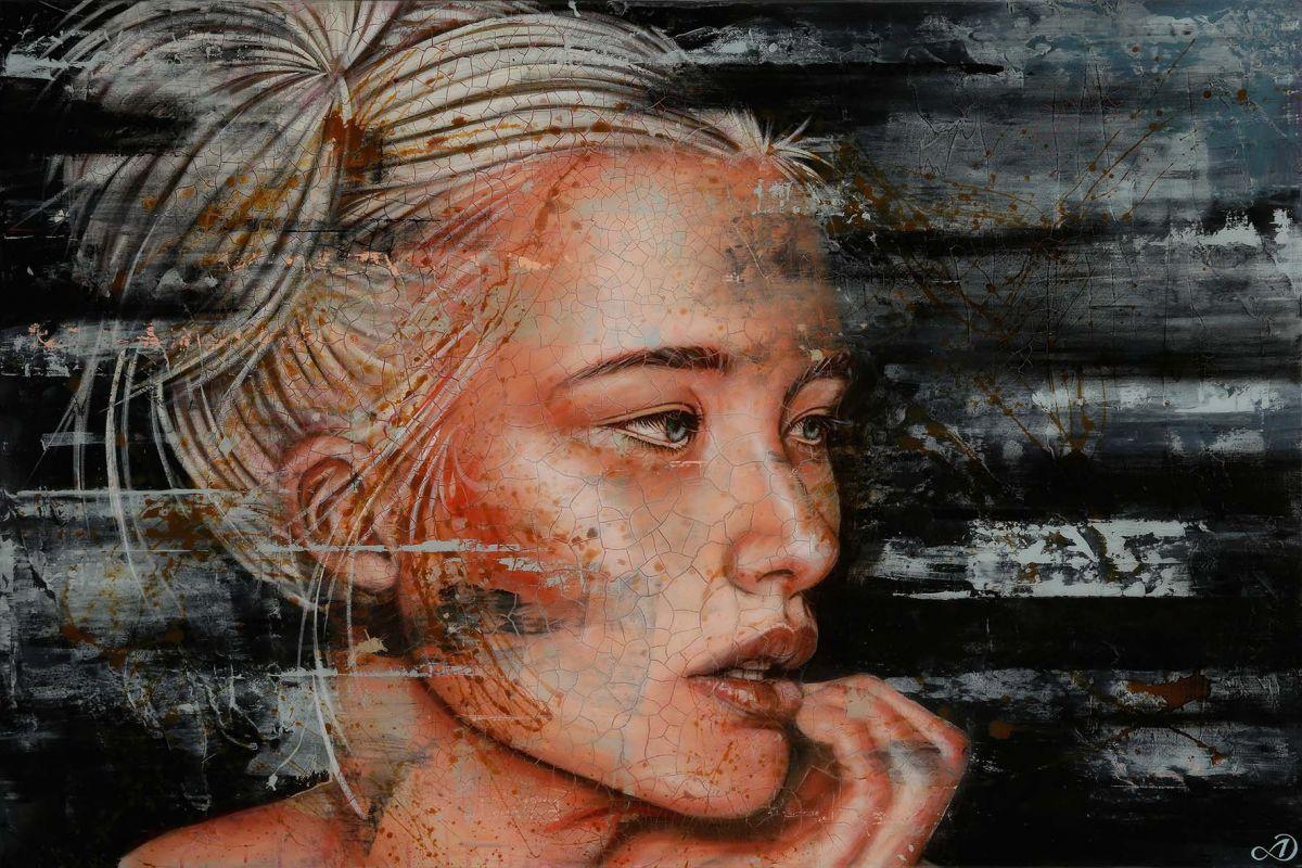 Kunst: Lynn 2 van kunstenaar Harold Aspers