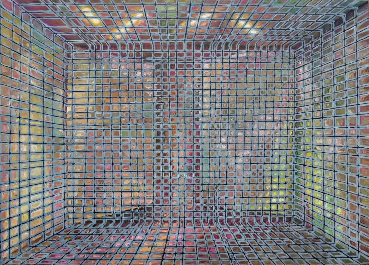 Kunst: M 2011 F van kunstenaar Martin Copier