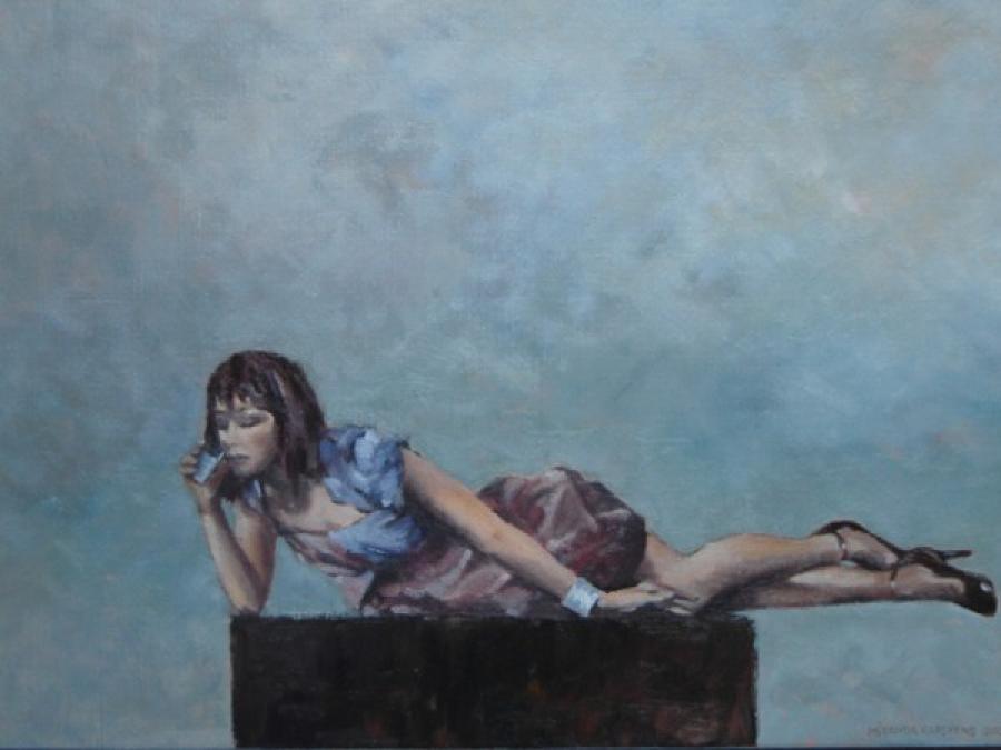 Kunst: Maar je zou vanavond komen…. van kunstenaar Miranda Karskens