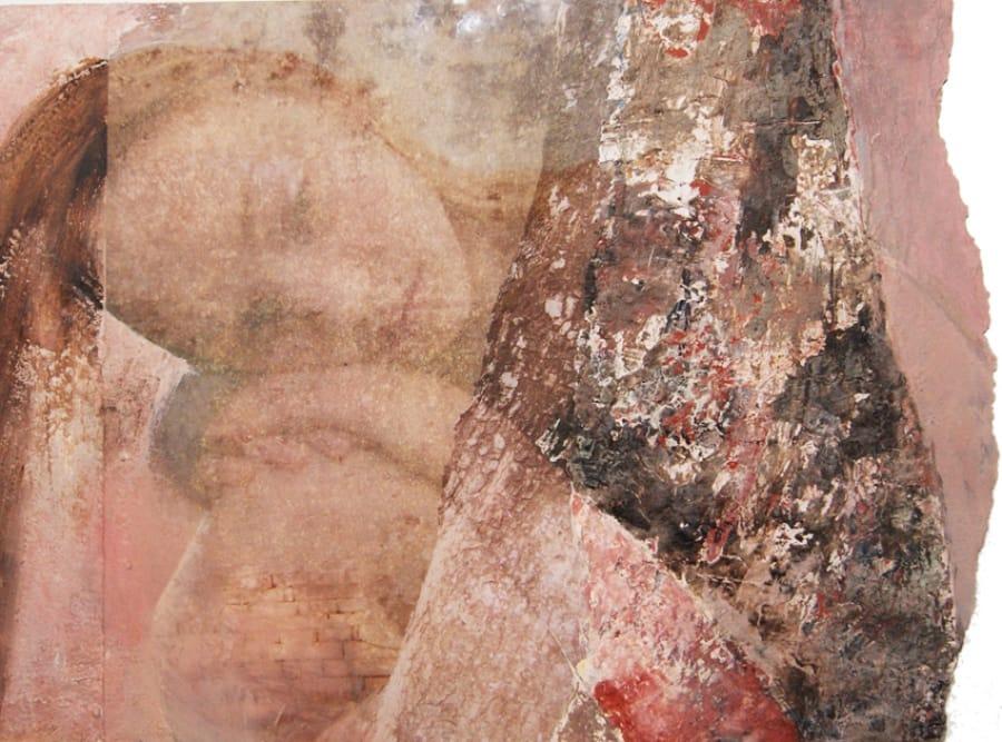 Kunst: Madonna & Tree van kunstenaar Toos van Poppel