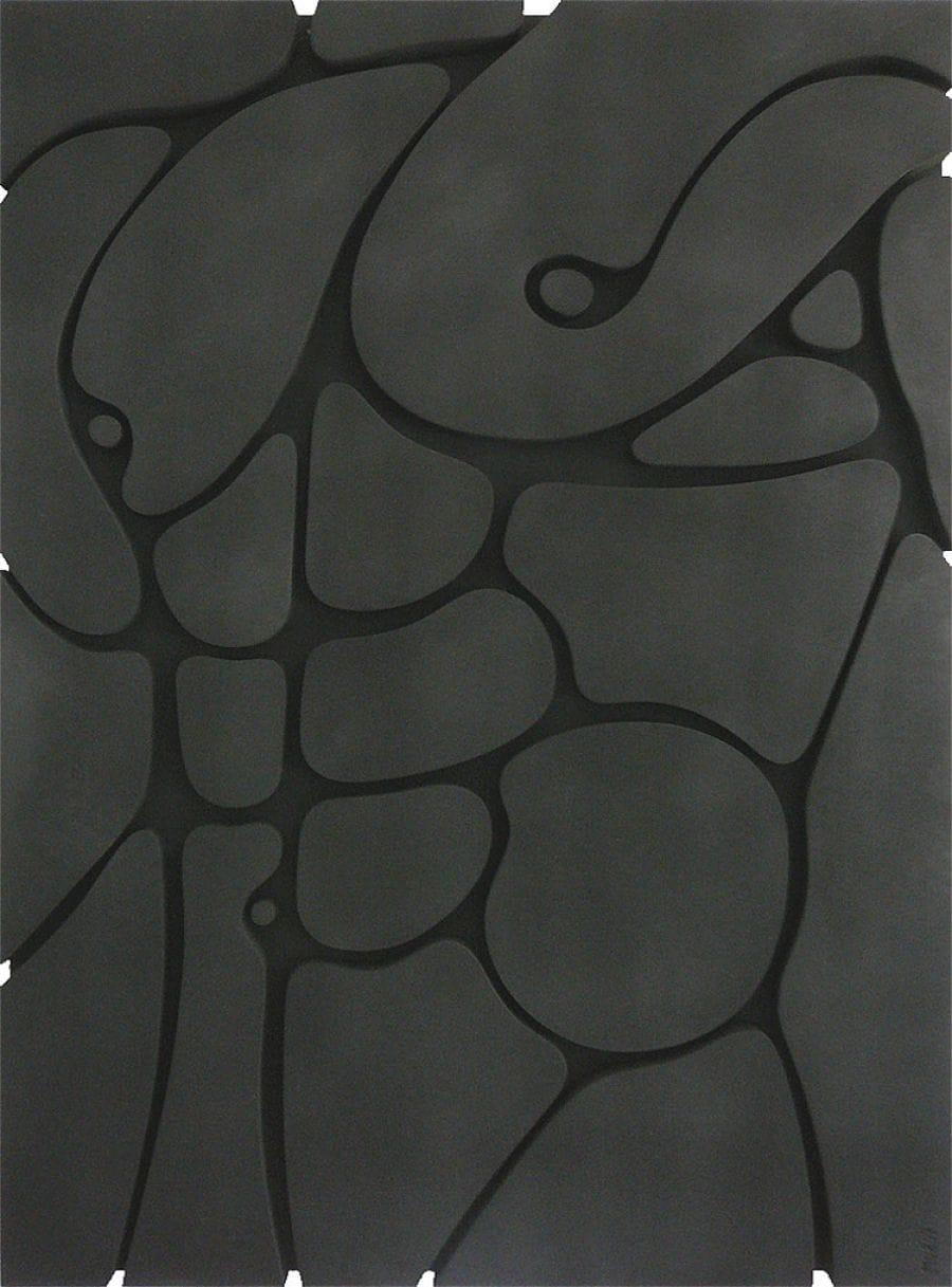 Kunst: Male Torso van kunstenaar Merian van Rooijen