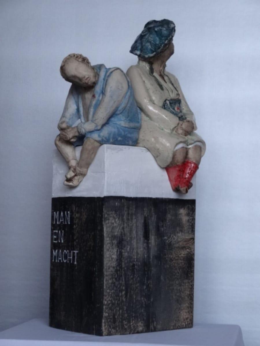 Kunst: Man en Macht van kunstenaar Marja Verkerk-Smit