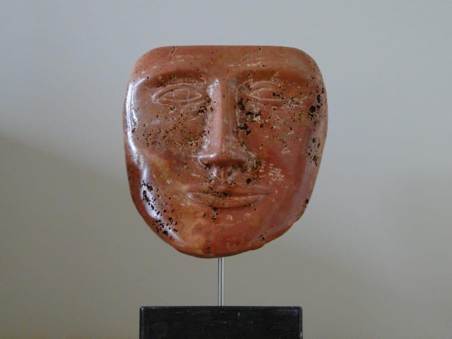 Kunst: Mask van kunstenaar Bert Verboon