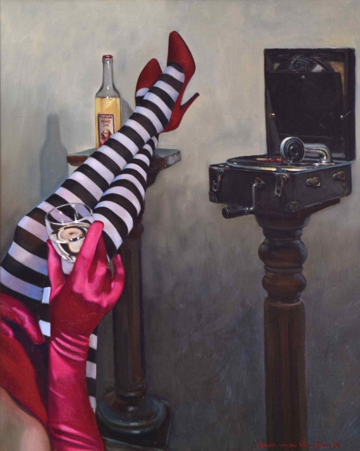 Kunst: Mathilde Blanc Sec van kunstenaar Roeland van der Kley