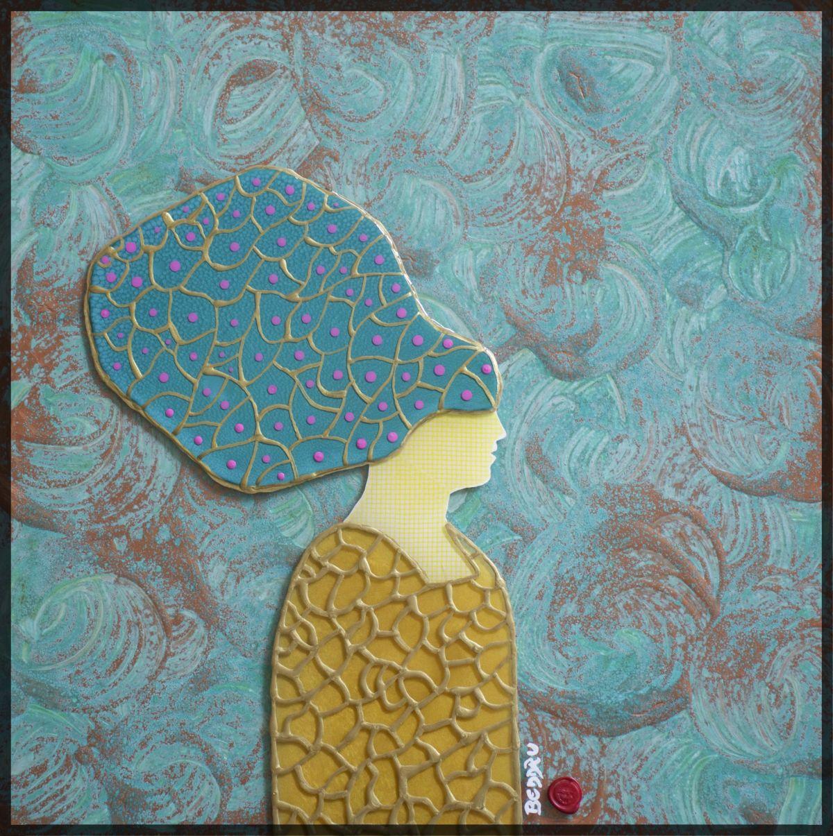 Kunst: Medea van kunstenaar  Beddru