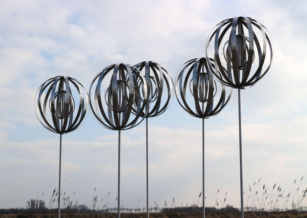 Kunst: Metal Forest van kunstenaar Bert Verboon