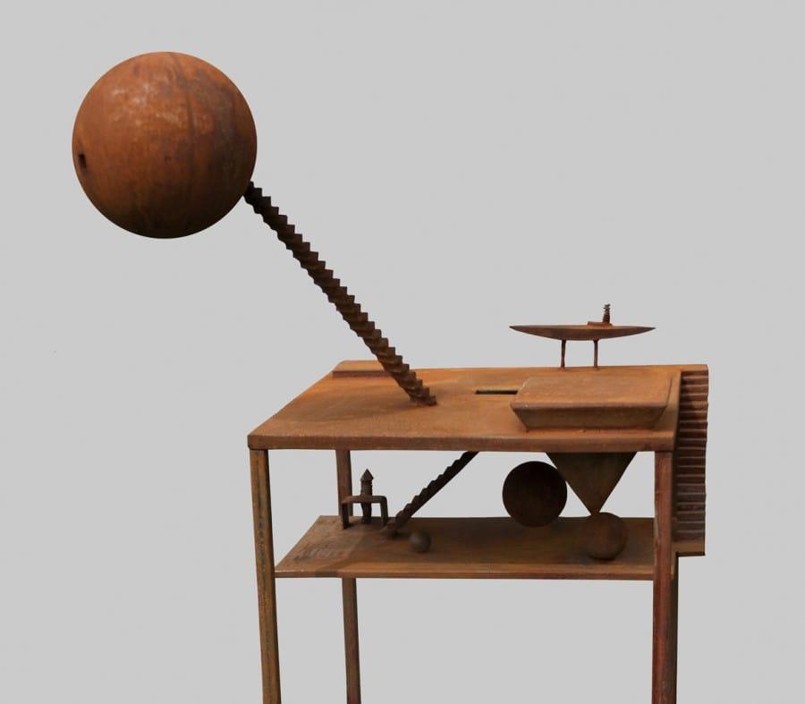 Kunst: Mijmering 4 van kunstenaar Frans Muhren