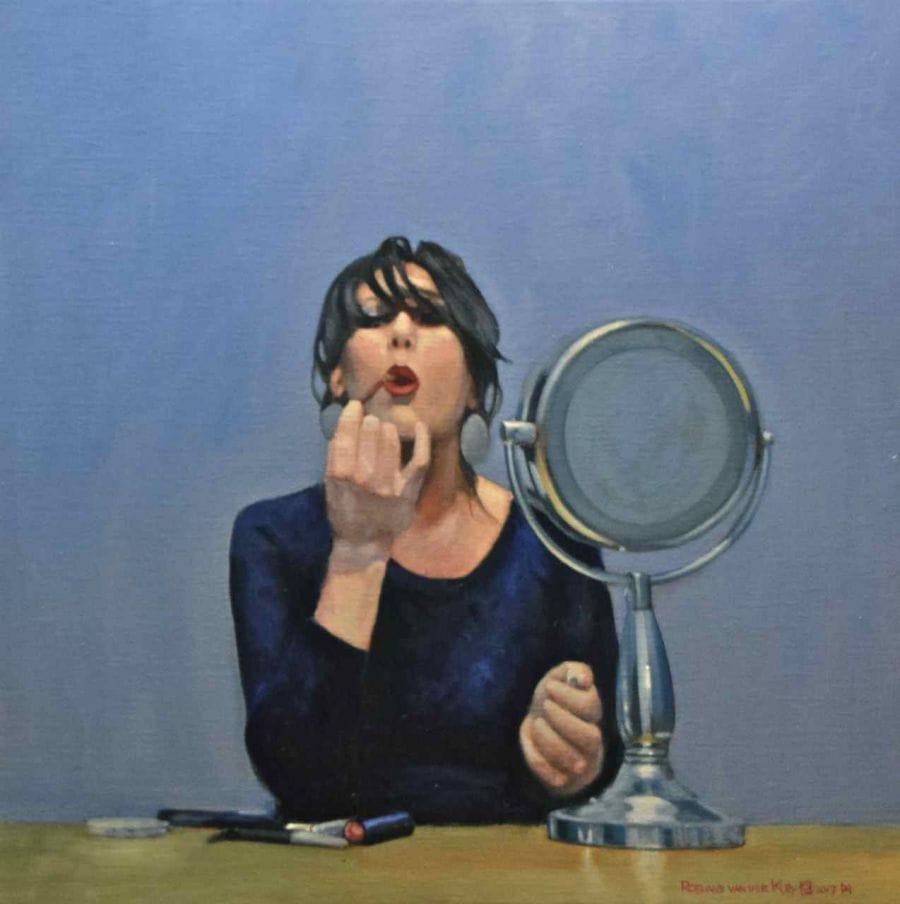Kunst: Mirrors van kunstenaar Roeland van der Kley
