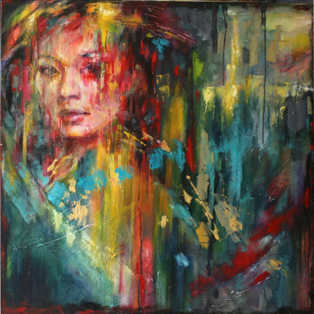 Kunst: Misaki van kunstenaar Evelyn Hamilton
