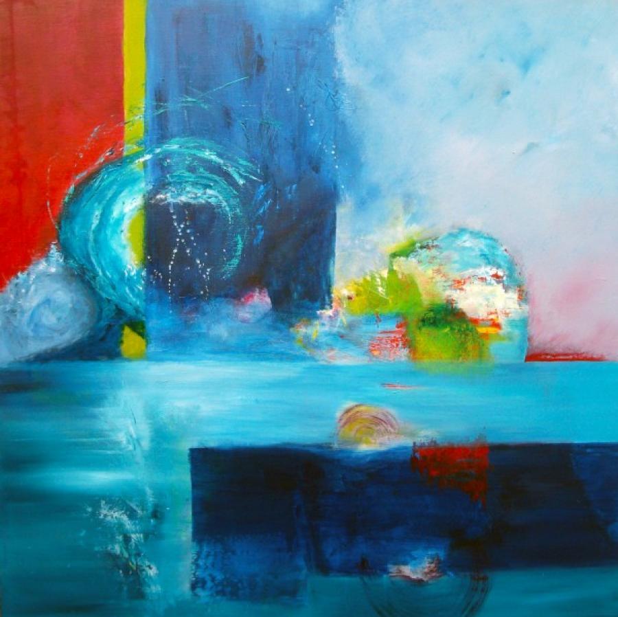 Kunst: Mona or Lisa van kunstenaar Kitty Tijbosch