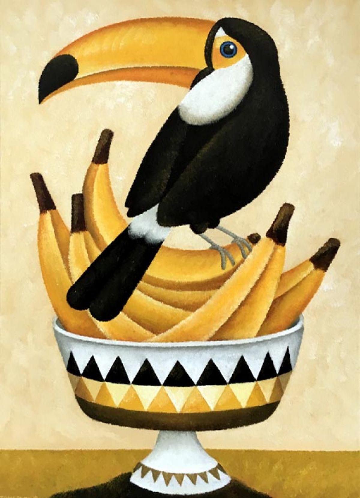 Kunst: More bananas van kunstenaar Yvonne Zomerdijk