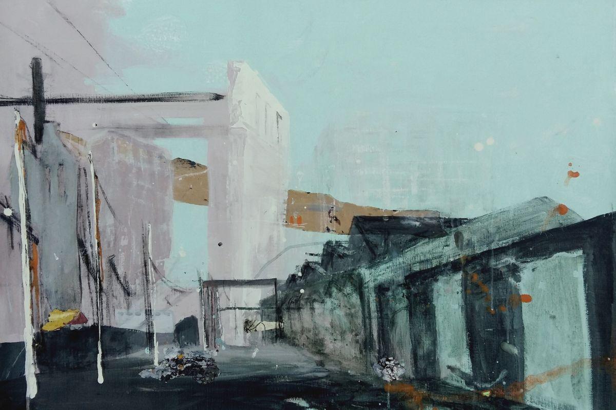 Kunst: Morgendämmerung van kunstenaar Anneke Koster