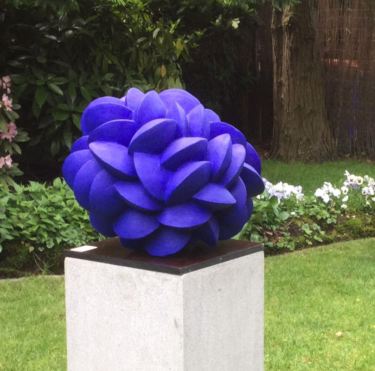 Kunst: Mossels (Blue XL II) van kunstenaar Jolanda Drukker Murray