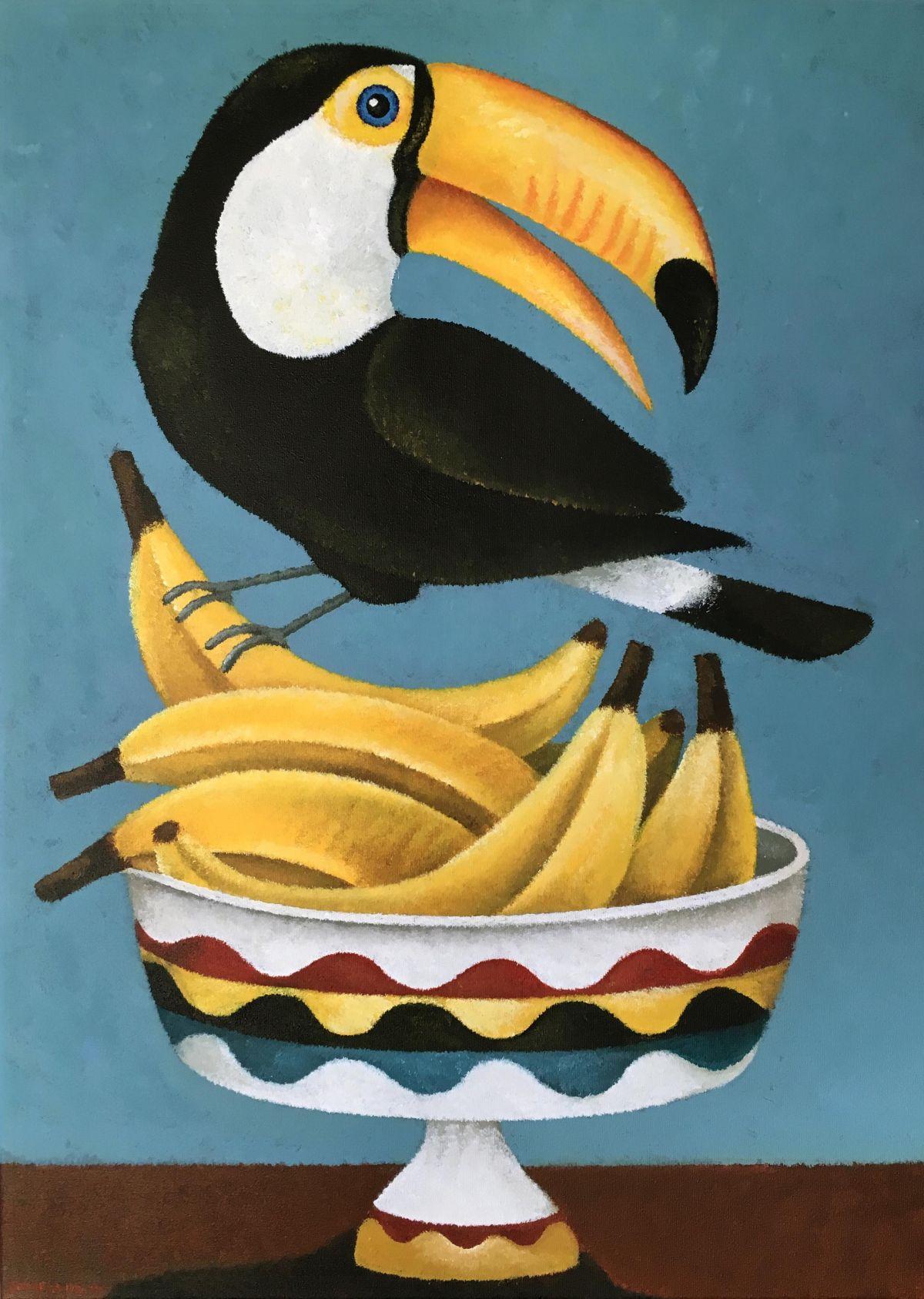 Kunst: Most bananas van kunstenaar Yvonne Zomerdijk