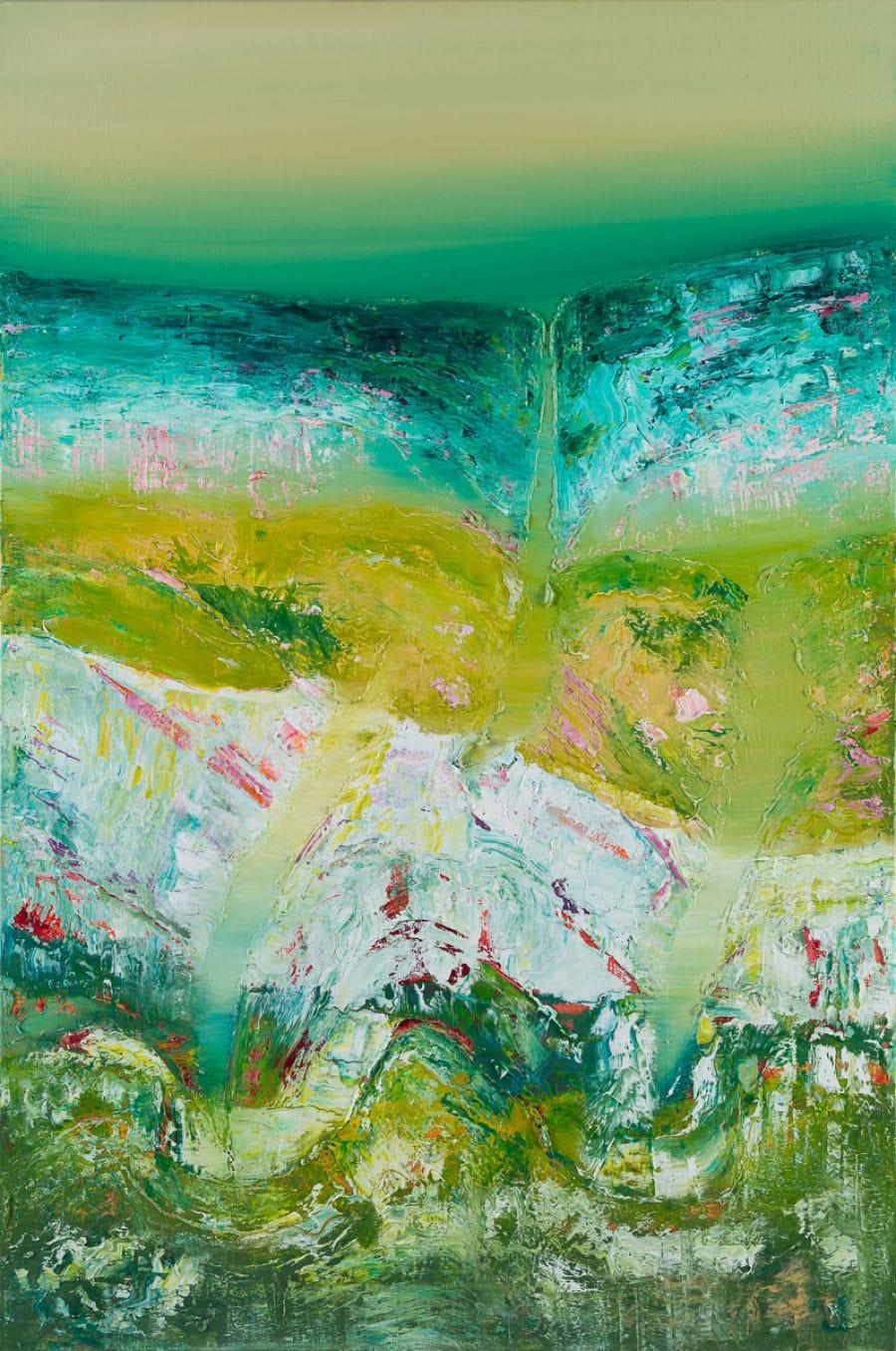 Kunst: Movements down under van kunstenaar Els Vegter