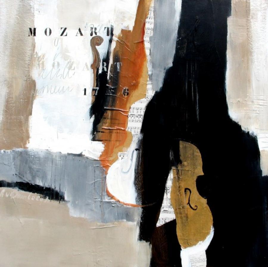 Kunst: Mozart van kunstenaar Lydia van Domburgh