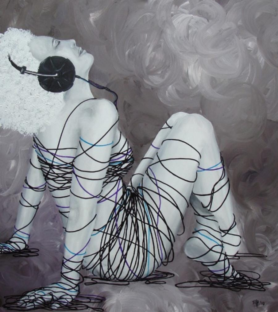 Kunst: Musicdream van kunstenaar Tamara Sille