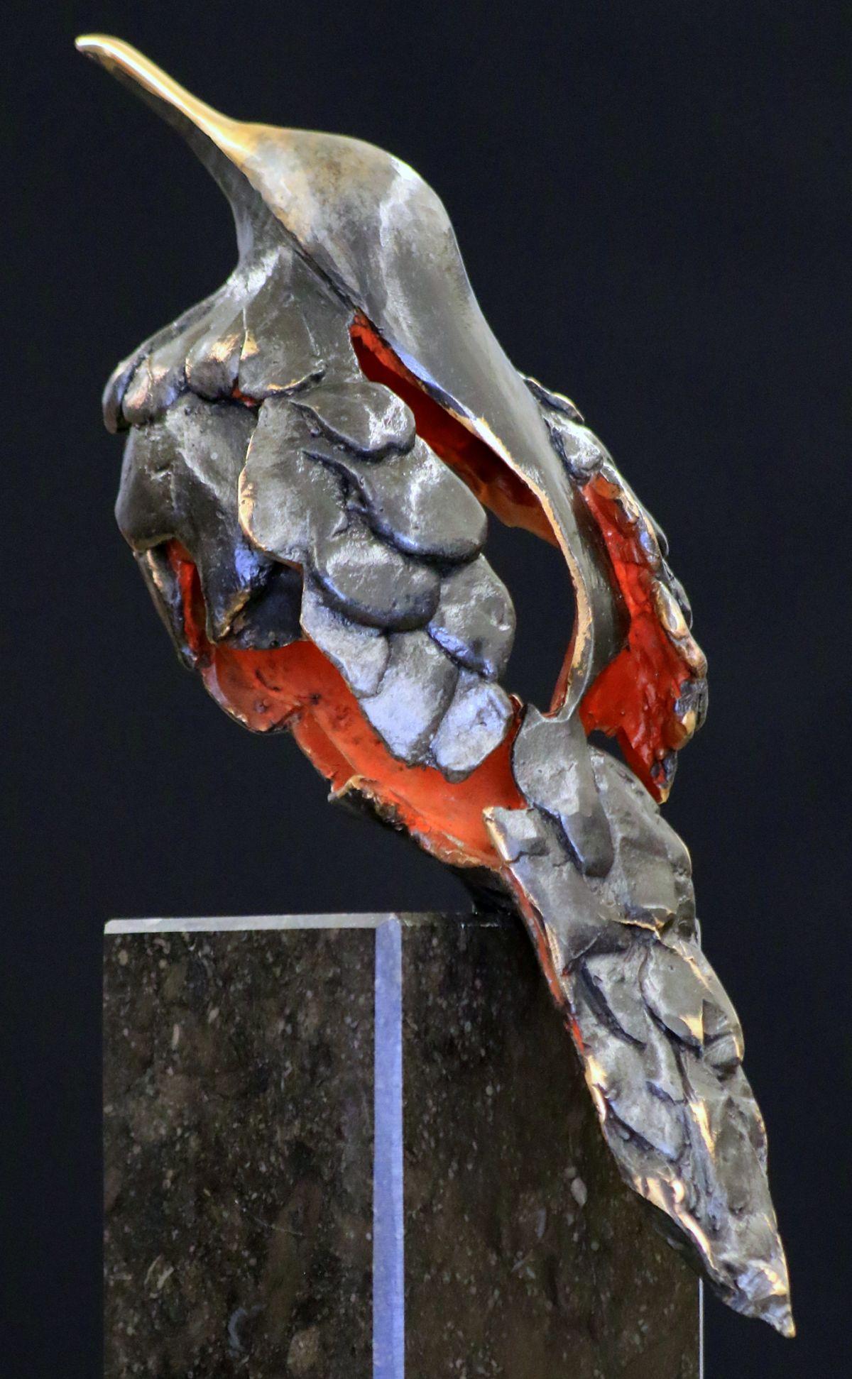 Kunst: Muslukt (L215006) van kunstenaar Leny Franken