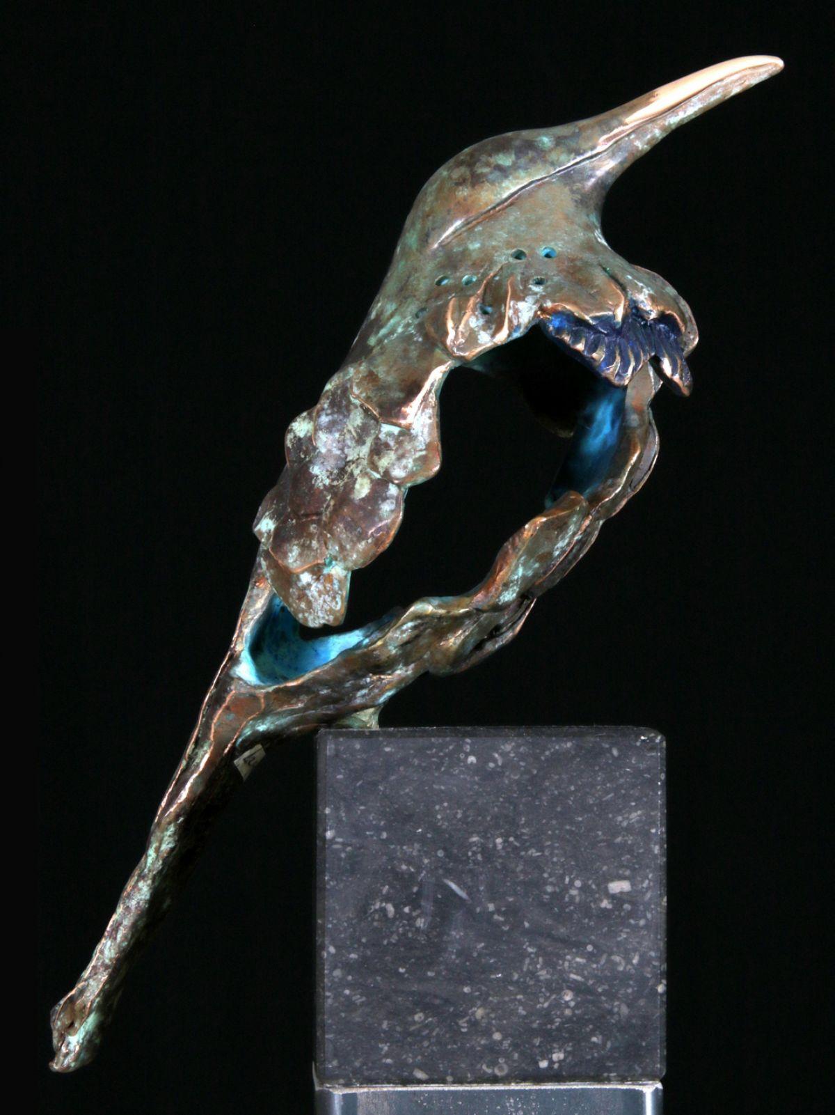 Kunst: Muslukt- (L217086) van kunstenaar Leny Franken