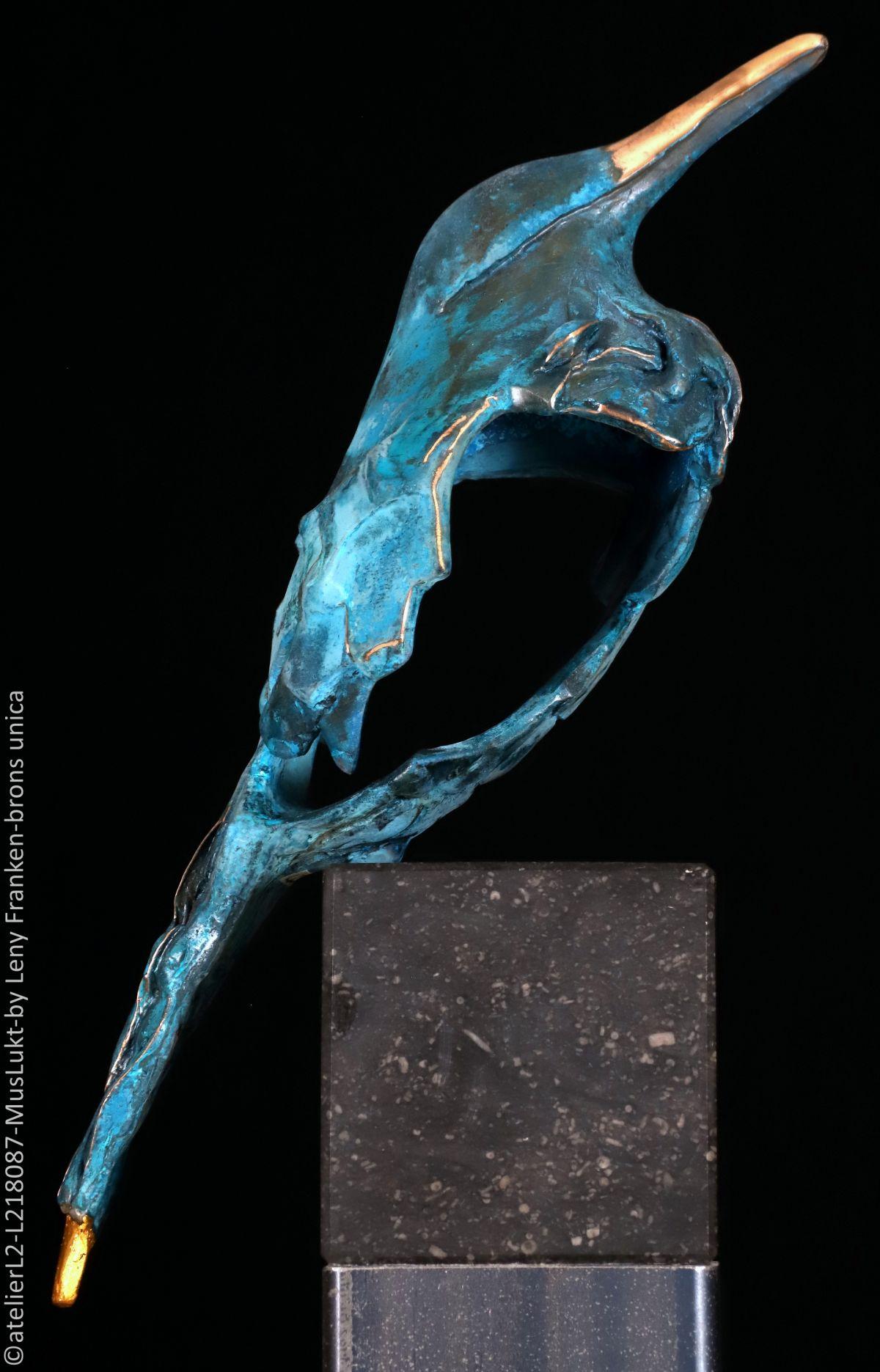Kunst: Muslukt (L218087) van kunstenaar Leny Franken