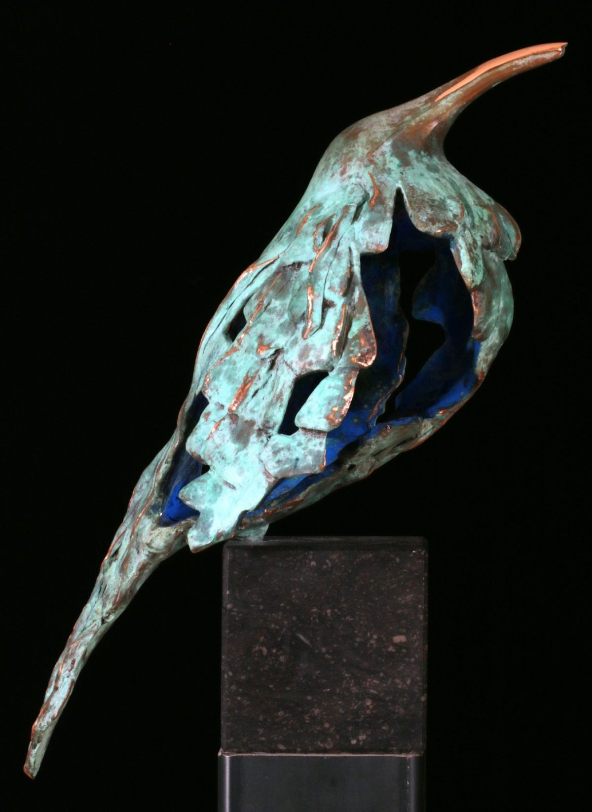 Kunst: Muslukt XL (L217052) van kunstenaar Leny Franken