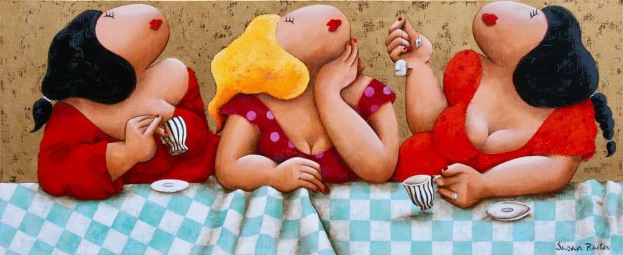 Kunst: My cup of tea van kunstenaar Susan Ruiter