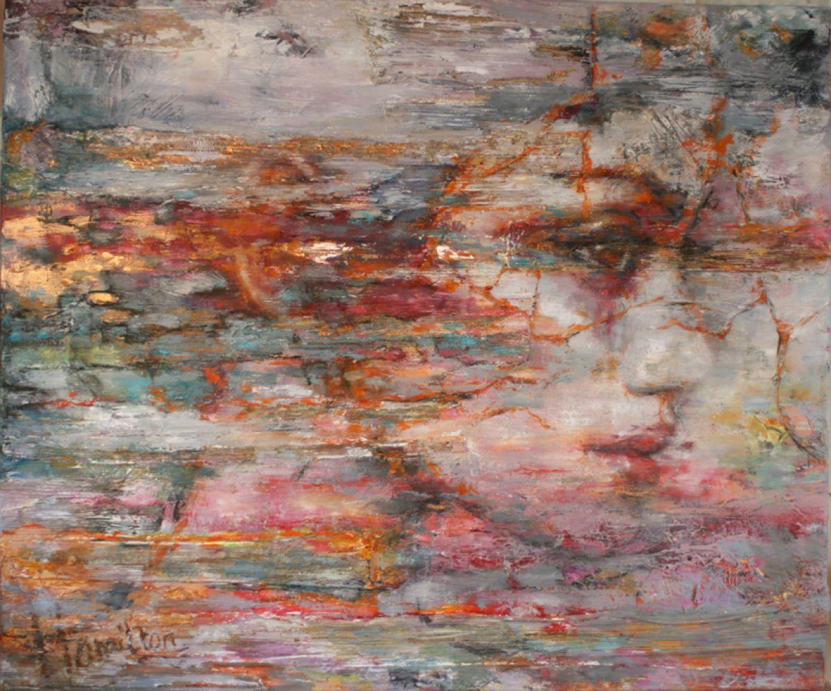 Kunst: My Way van kunstenaar Evelyn Hamilton