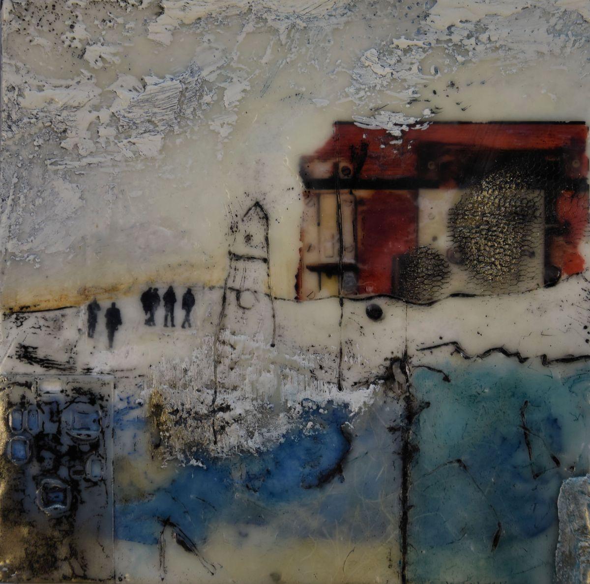 Kunst: Naar huis I van kunstenaar Trijnie Mohlmann