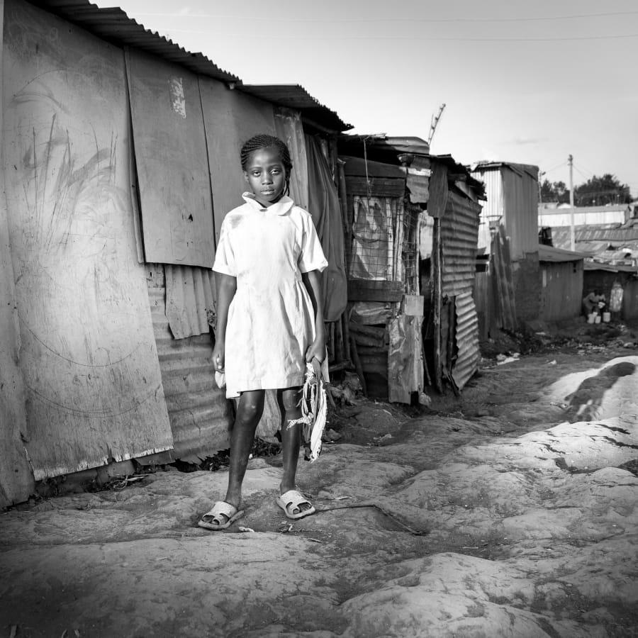 Kunst: Nairobi Carolina van kunstenaar Gertjan van Geerenstein