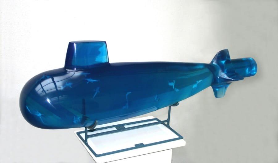 Kunst: Nautilus 1 van kunstenaar Frans Muhren