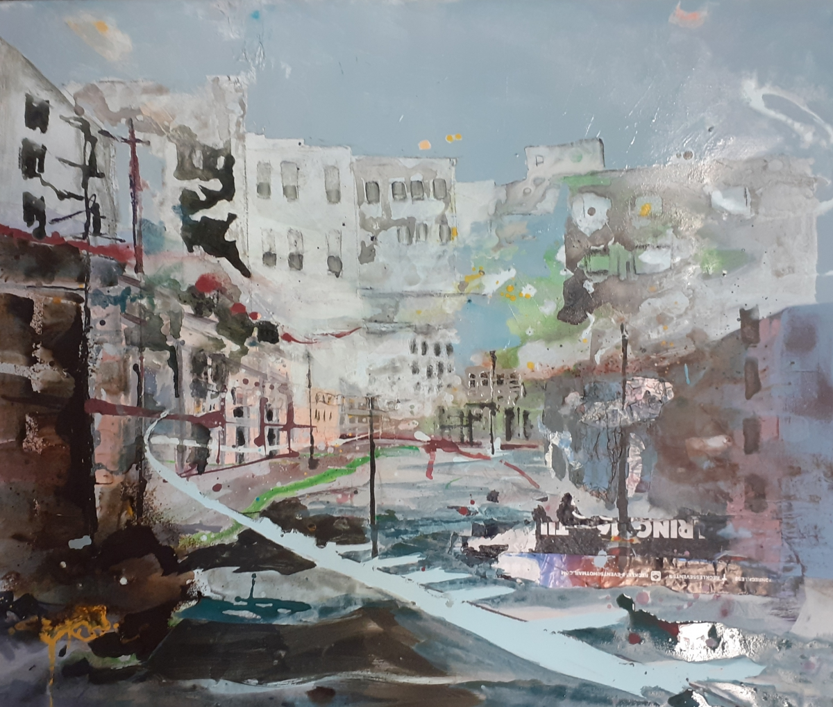 Kunst: Near the beach van kunstenaar Anneke Koster