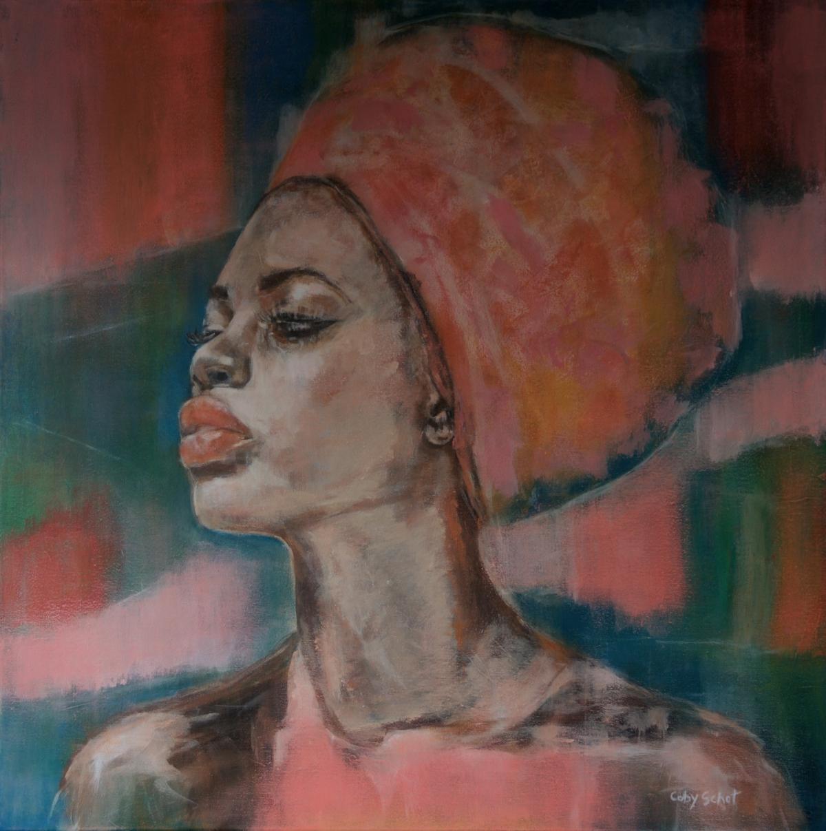 Kunst: 'Nefertiti' van kunstenaar Coby Schot