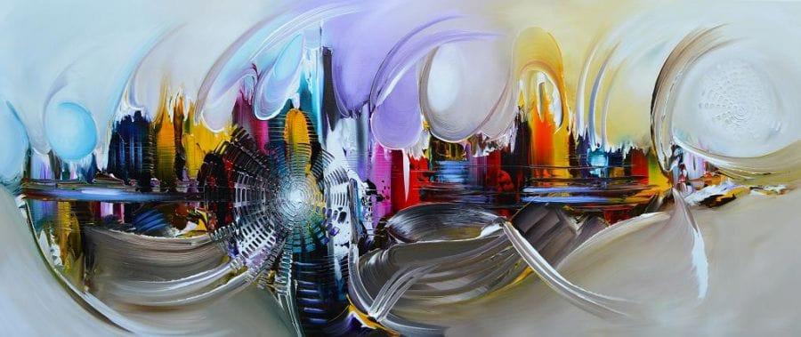 Kunst: New World van kunstenaar Gena n Gena