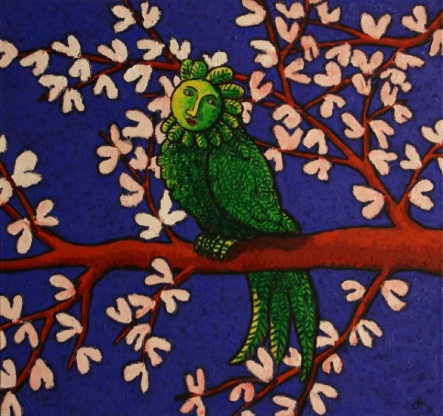 Kunst: Next spring van kunstenaar Jacques Tange
