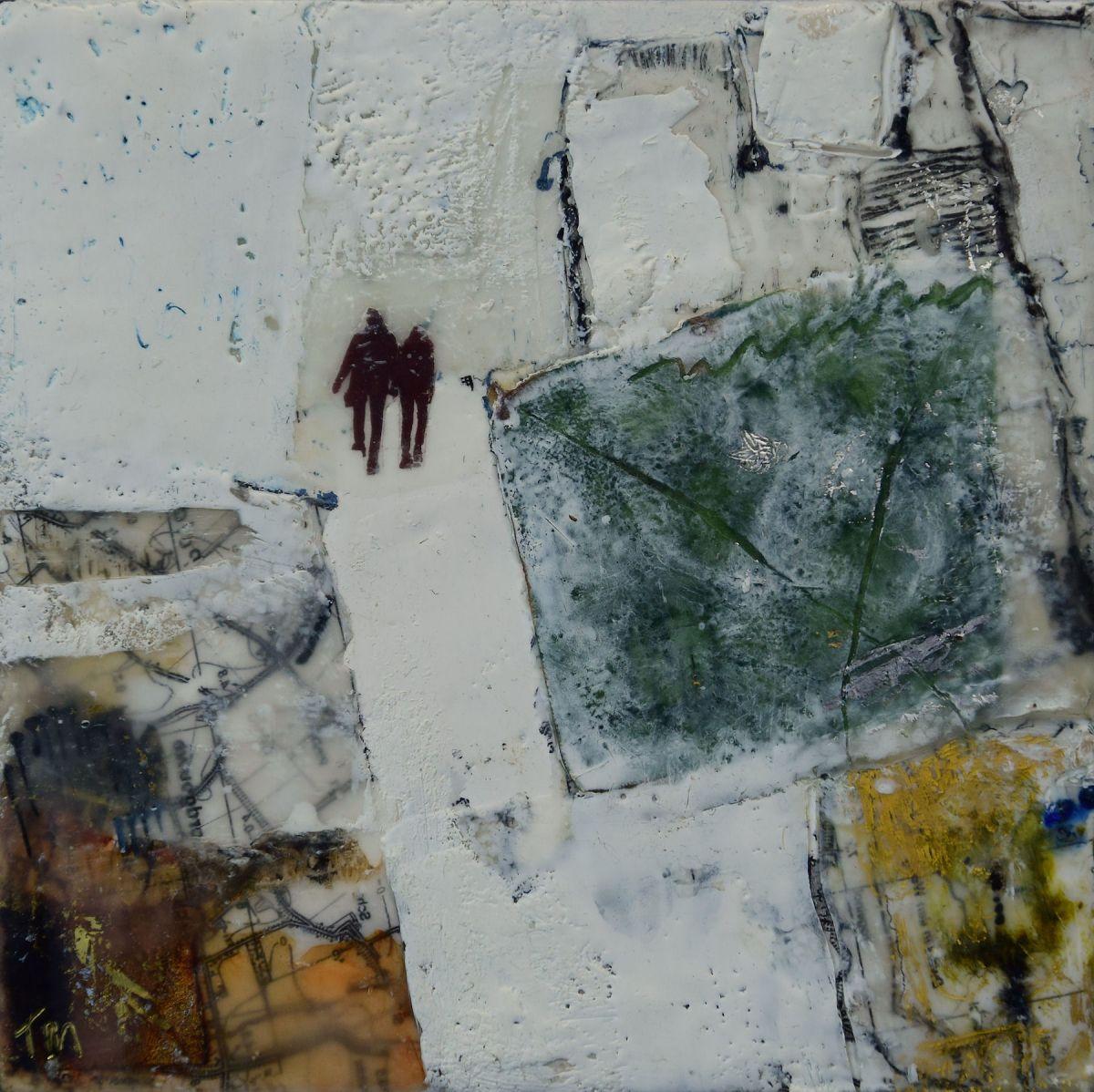 Kunst: Nice walk van kunstenaar Trijnie Mohlmann