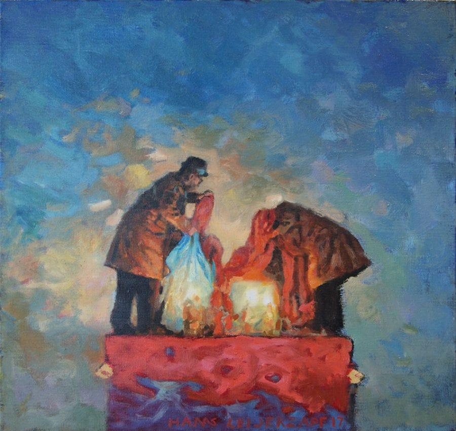 Kunst: Niet wat zij wilden van kunstenaar Hans Leijerzapf