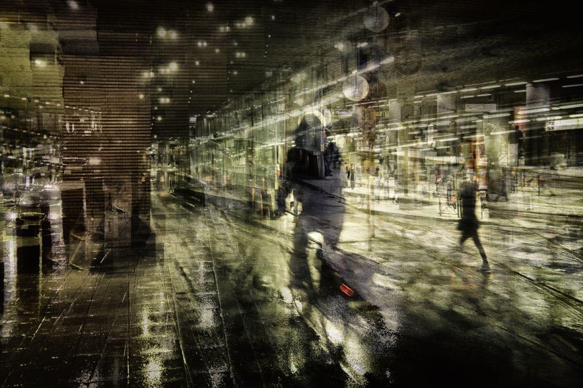 Kunst: Night ride van kunstenaar Thomas Vanoost