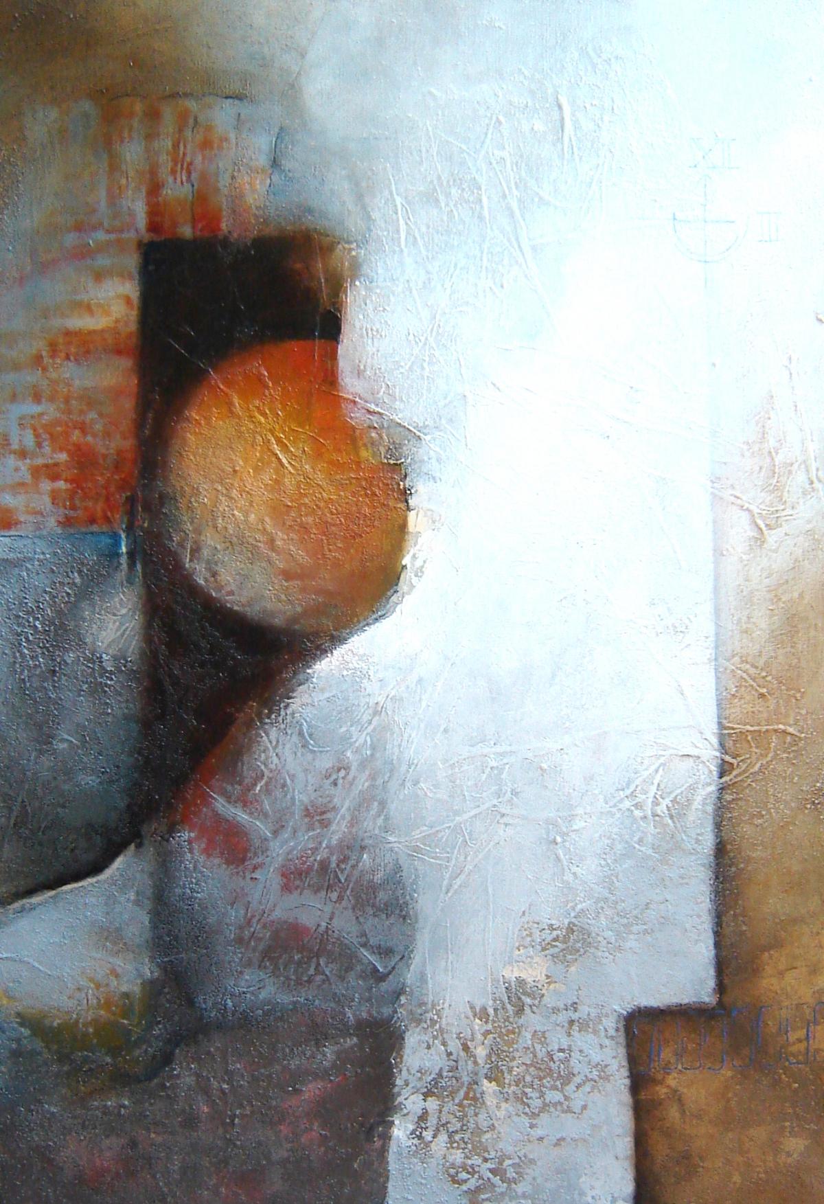 Kunst: Nocturne van kunstenaar Marly Freij(vergezichten)