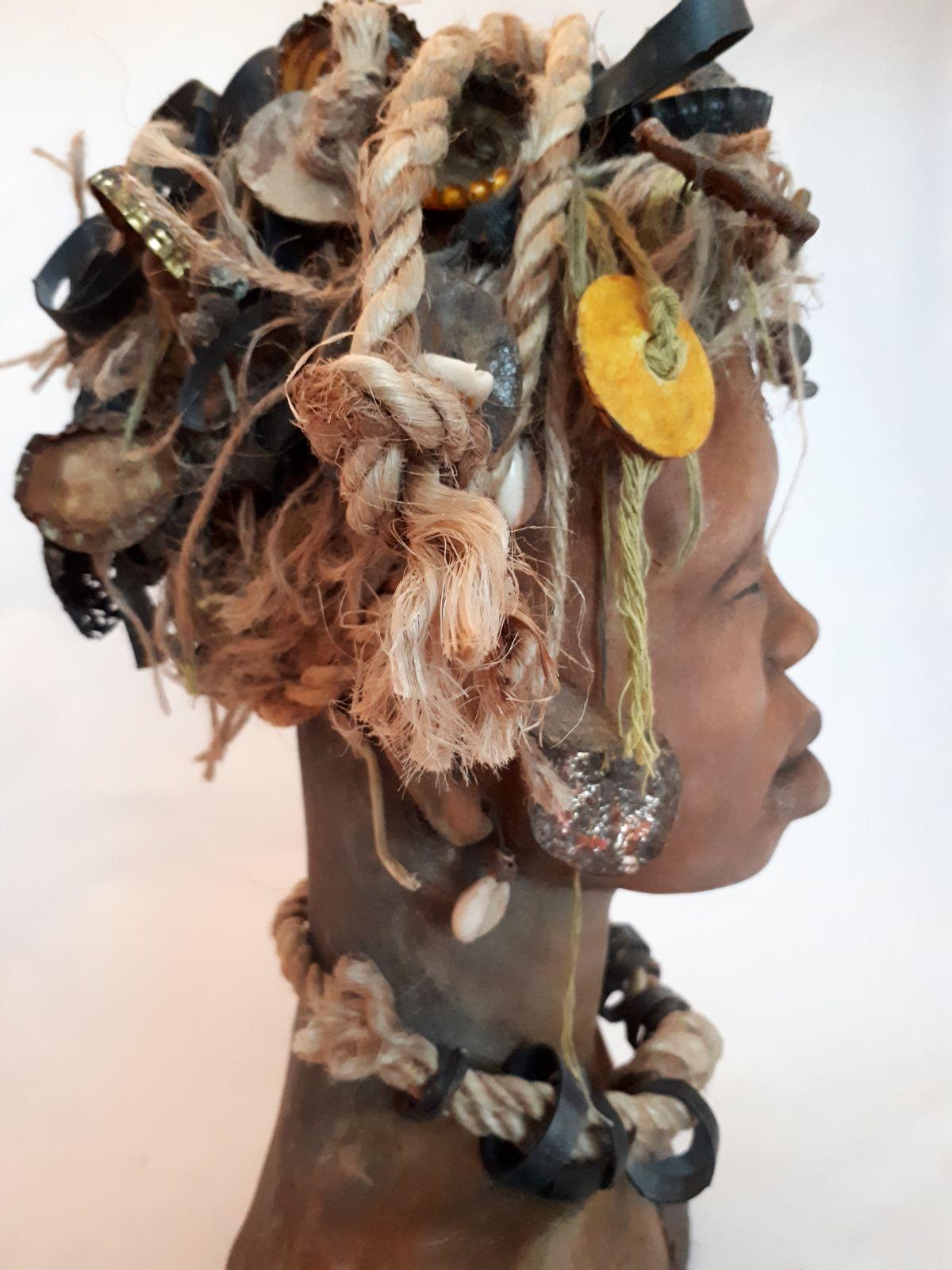 Kunst: Nomalanga – Sunny van kunstenaar Lilian Wessels