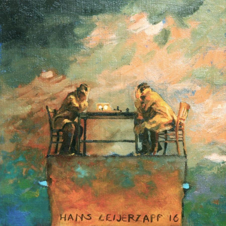 Kunst: Noodzakelijke verplaatsingen van kunstenaar Hans Leijerzapf