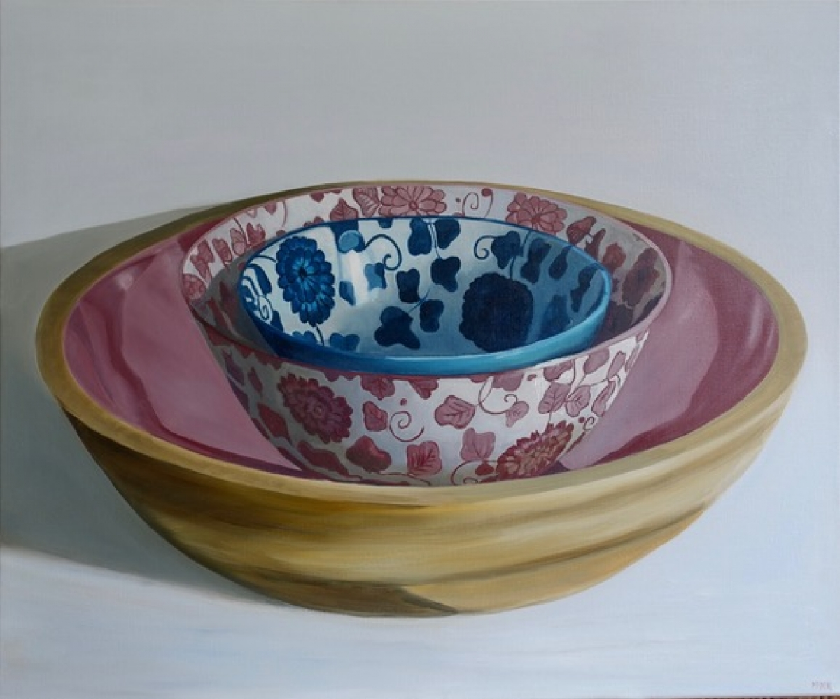 Kunst: Genève – French Bowls van kunstenaar Minke Buikema