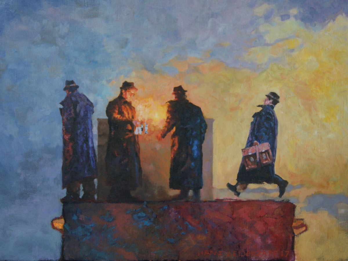 Kunst: Nu weten ze genoeg van kunstenaar Hans Leijerzapf