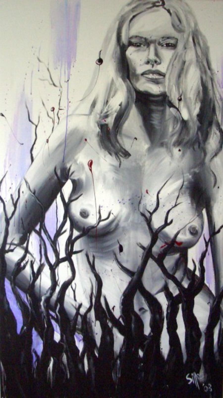 Kunst: Nude one van kunstenaar Tamara Sille